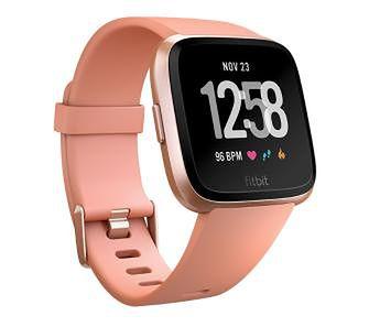 Fitbit Versa (Peach/Rose Gold)