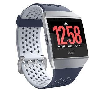 Fitbit Ionic Adidas Edition (niebiesko-szary)