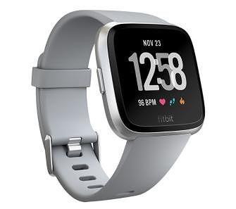 Fitbit Versa (szaro-srebrny)