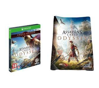 Assassin's Creed Odyssey Edycja Omega + ręcznik