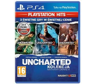 Uncharted: Kolekcja Nathana Drake'a - PlayStation Hits PS4