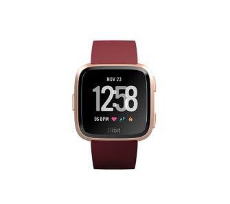 Fitbit Versa Merlot (różowo-złoty)