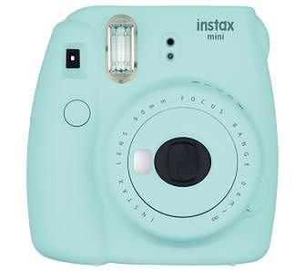 Fujifilm Instax Mini 9 (jasnoniebieski) + 10 zdjęć