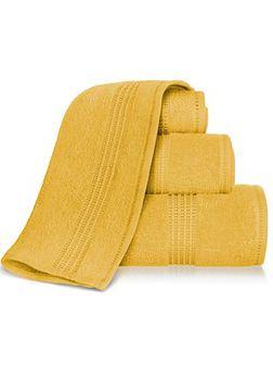 Ręcznik 70x140 412A - musztardowy - 70x140