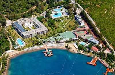 Turcja, Turcja Egejska Bodrum-Güvercinlik