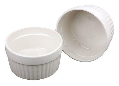Ceramiczne miseczki, kokilki wielofunkcyjne 185 ml - 2 sztuki