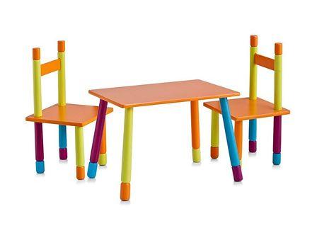 Stolik dziecięcy COLOR + 2 krzesełka