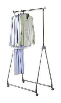 Wieszak na ubrania - szafa na kółkach, WENKO