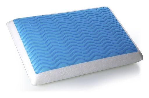 Żelowa poduszka Memory Foam 60x40 cm - ortopedyczna - EMIN