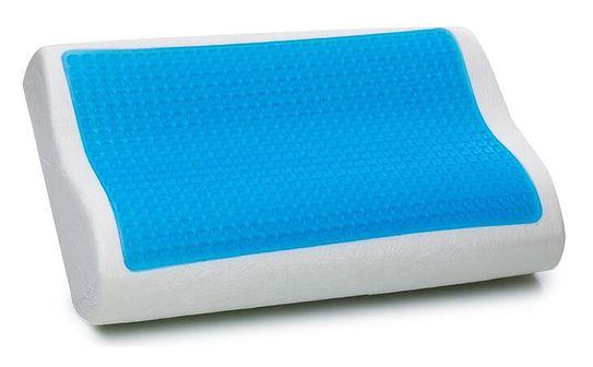 Żelowa poduszka Memory Foam 50x30 cm - piankowa  - ortopedyczna - MOCO