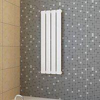 vidaXL Panel grzewczy, kaloryfer biały 311 x 900 mm