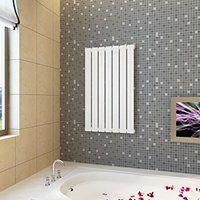 vidaXL Panel grzewczy, kaloryfer biały 542 x 900 mm