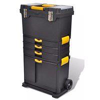 vidaXL Wózek na narzędzia Skrzynia na narzędzia