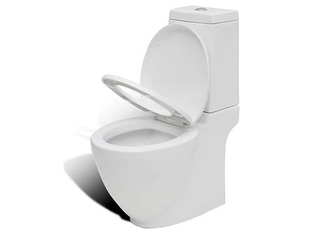 vidaXL Miska klozetowa, toaleta, ze zbiornikiem, nowoczesny design