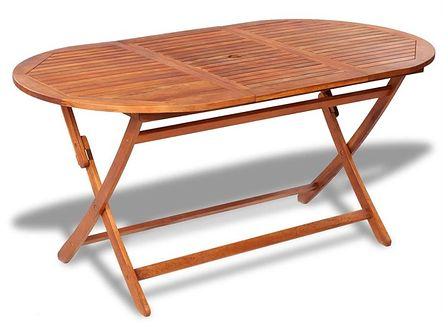 vidaXL Stół ogrodowy jadalniany z drewna akacjowego