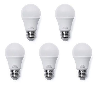 Żarówka - energooszczędna - LED - 5 sztuk - 5W, E27