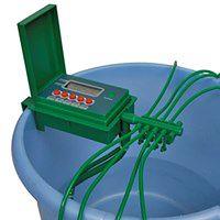 vidaXL Automatyczny system nawadniania ze zraszaczem i włącznikiem czasowym