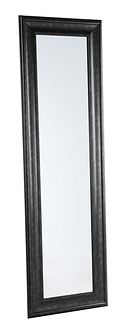 Lustro ścienne czarne 51x141 cm LUNEL
