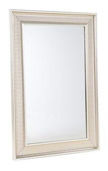 Lustro złote - w ramie - do łazienki - do salonu - 60 x 90 cm - CASSIS