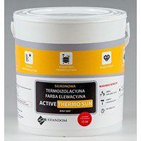 Termoizolacyjna antygrzybiczna farba elewacyjna ACTIVE THERMO SUN (5 kg, Szary)