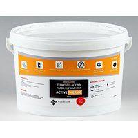 Termoizolacyjna antygrzybiczna farba elewacyjna ACTIVE THERMO (18 kg, Oliwkowy)
