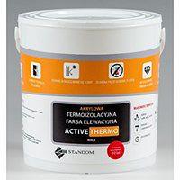 Termoizolacyjna antygrzybiczna farba elewacyjna ACTIVE THERMO (5 kg, Brzoskwiniowy)