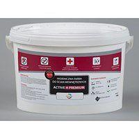 Higieniczna farba antygrzybiczna ACTIVE H PREMIUM (6 kg, Jasny szary)