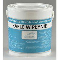 Dekoracyjny bezbarwny lakier  – AQUA CERAMIC- KAFLE W PŁYNIE (5 l mat)