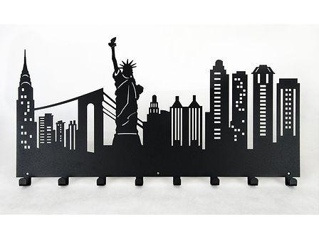 Wieszak do przedpokoju New York - Biały