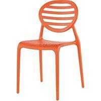 Krzesło Top Gio pomarańczowe