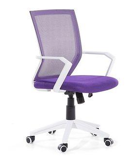 Krzesło biurowe fioletowe regulowana wysokość RELIEF