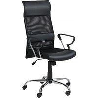 Krzesło biurowe Rosenheim czarne