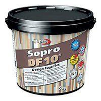 Fuga szeroka Sopro Flex DF10 Design 16 jasny szary 5 kg