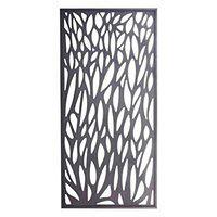 Moduł dekoracyjny Blooma Neva aluminiowy 88 x 179 cm szary