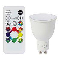 Żarówka LED GU10 5 3 W 350 lm RGB