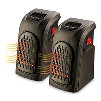 Kompaktowy ogrzewacz powietrza Rovus Handy Heater - zestaw 2 sztuk  Rovus