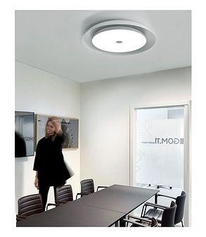 MCODO ::  Inteligentna i nowoczesna lampa SMARTLED 36W z bluetooth, zmianą barwy światła led, wyposażona w głośnik speaker 6W