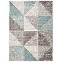 Niebiesko-szary dywan Universal Retudo Naia, 60x120 cm