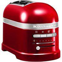 Toster na 2 kromki Artisan czerwony karmelek