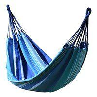 Niebiesko-biały hamak Cattara Textil