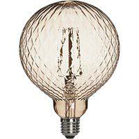 Żarówka dekoracyjna Elegance LED Cristal 2W brąz
