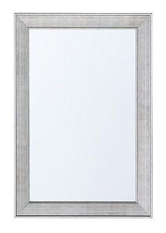 Lustro ścienne srebrne 61 x 91 cm BUBRY