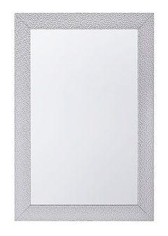 Lustro ścienne srebrne 61 x 91 cm MERVENT