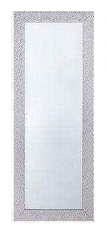 Lustro ścienne srebrne 50 x 130 cm MERVENT