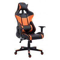 Fotel biurowy Racer Pro - pomarańczowy