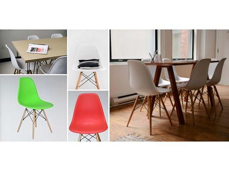 Krzesło Paris DSW - czarny