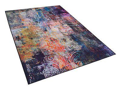 Dywan kolorowy 140 x 200 cm krótkowłosy MARDIN