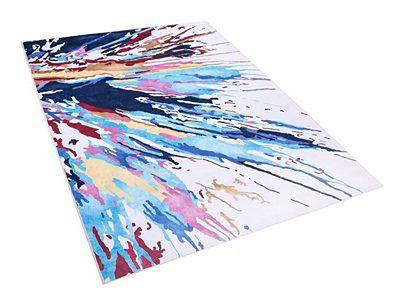 Dywan kolorowy 140 x 200 cm krótkowłosy KARABUK
