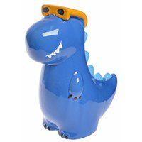 Dinozaur - skarbonka Rex-blue