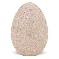 Różowe jajko dekoracyjne Romantos